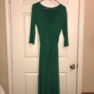 Beautiful emerald green dress